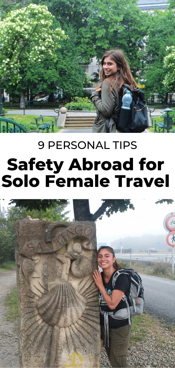 safety tips for solo female travel