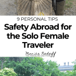 safety abroad for the solo female traveler
