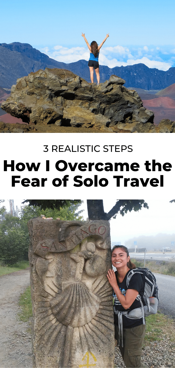 fear of solo travel