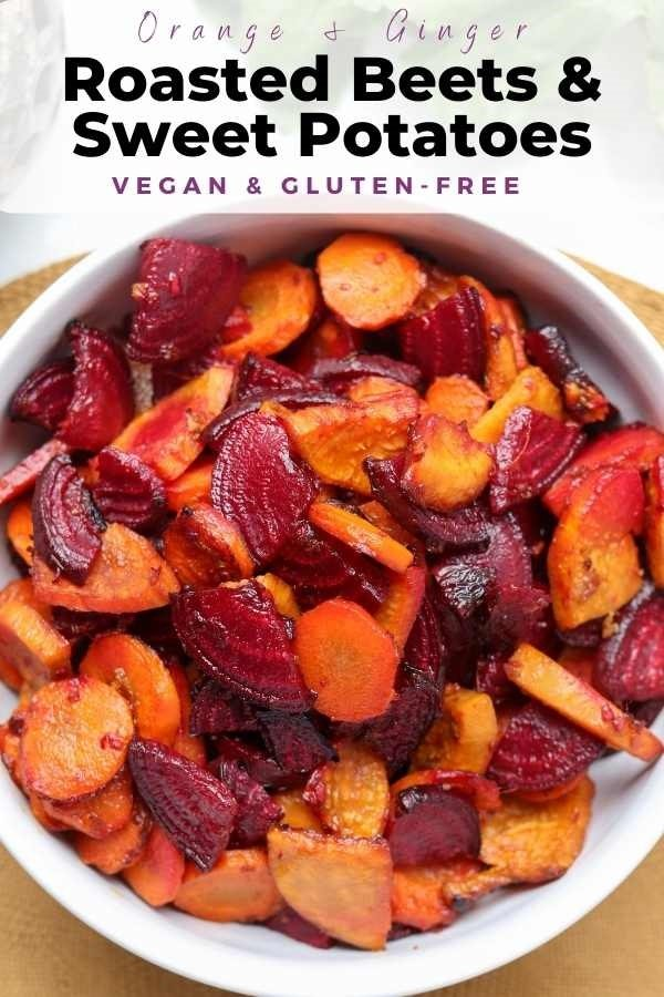 roasted beets carrots and sweet potatoes pin