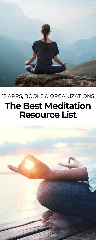 the best meditation resource list