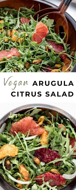 arugula citrus salad pin