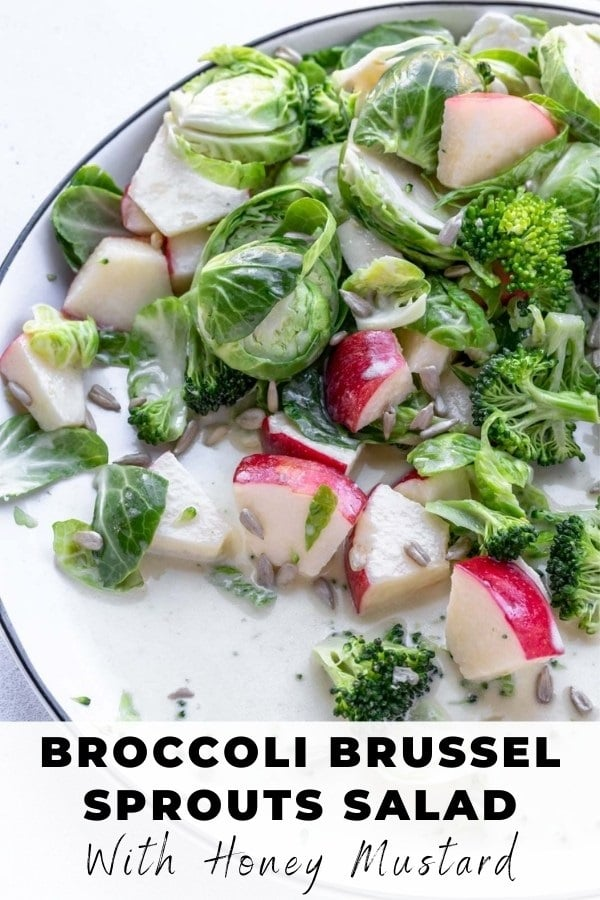 broccoli and brussel sprouts slaw pin