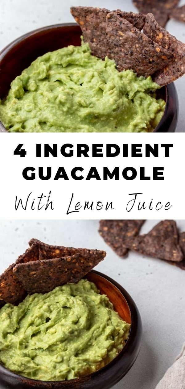 4 ingredient guacamole pin