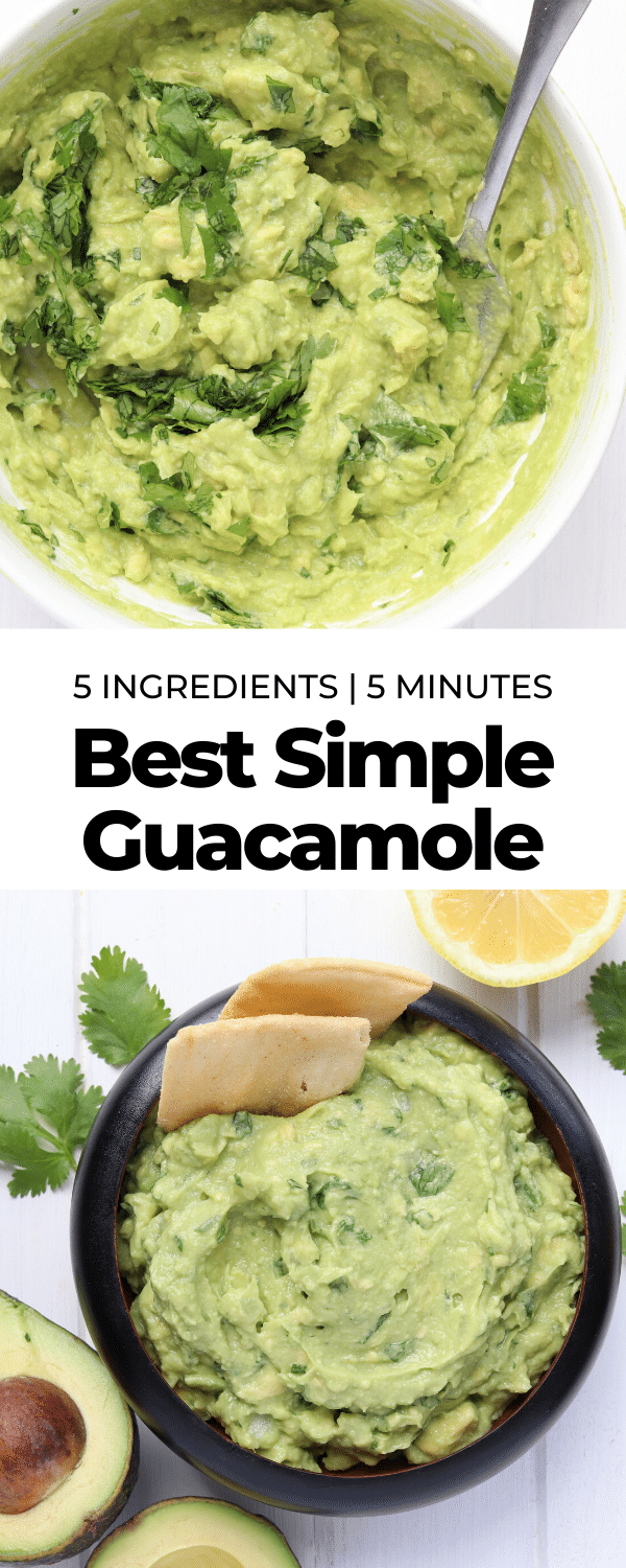 super simple guacamole pin