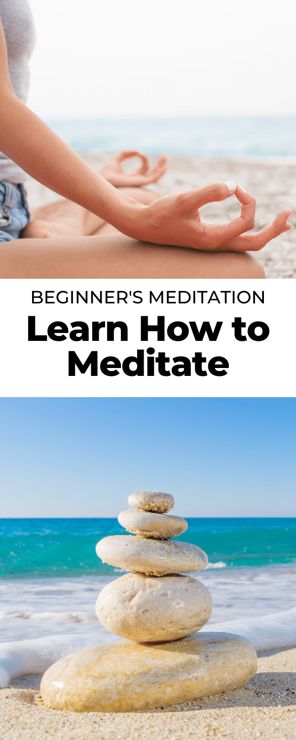 learn how to meditate pin