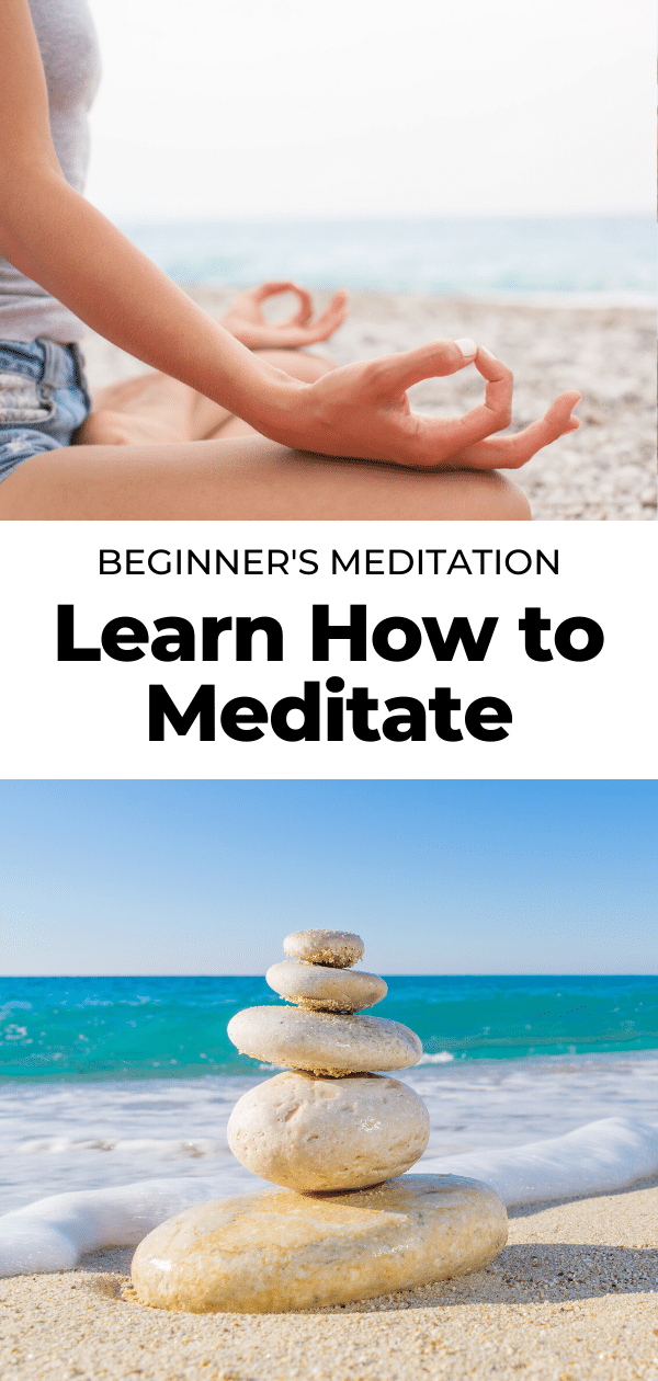 how to meditate pin