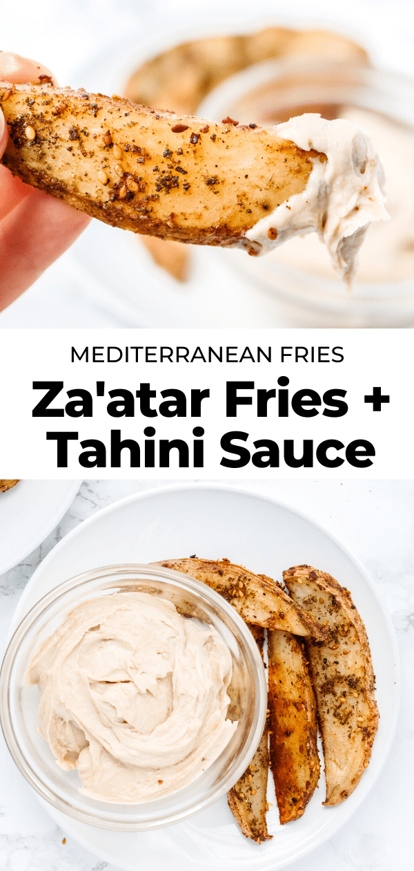 za'atar fries pin