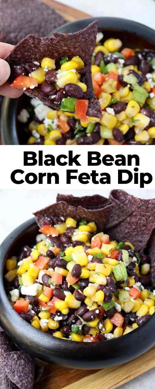 bean and corn dip pin