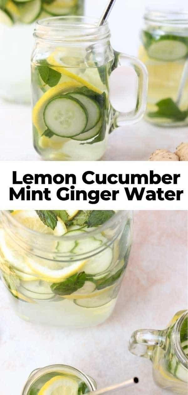 lemon mint water pin