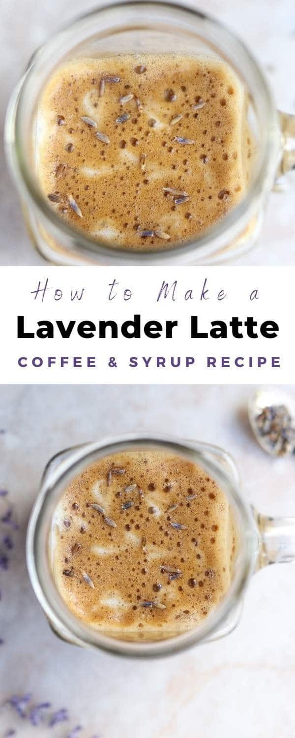 how to make a lavender latte pin