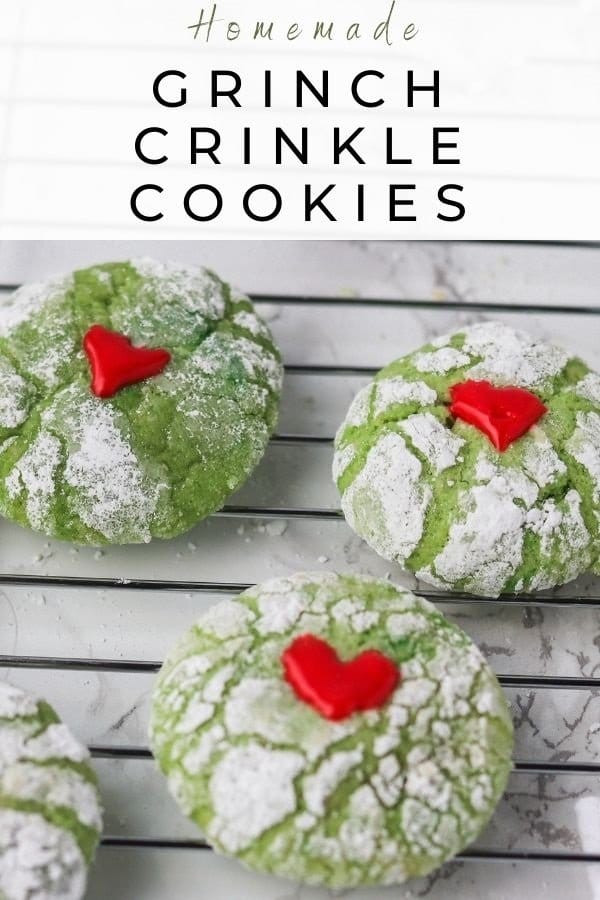crinkle cookies from scratch pin