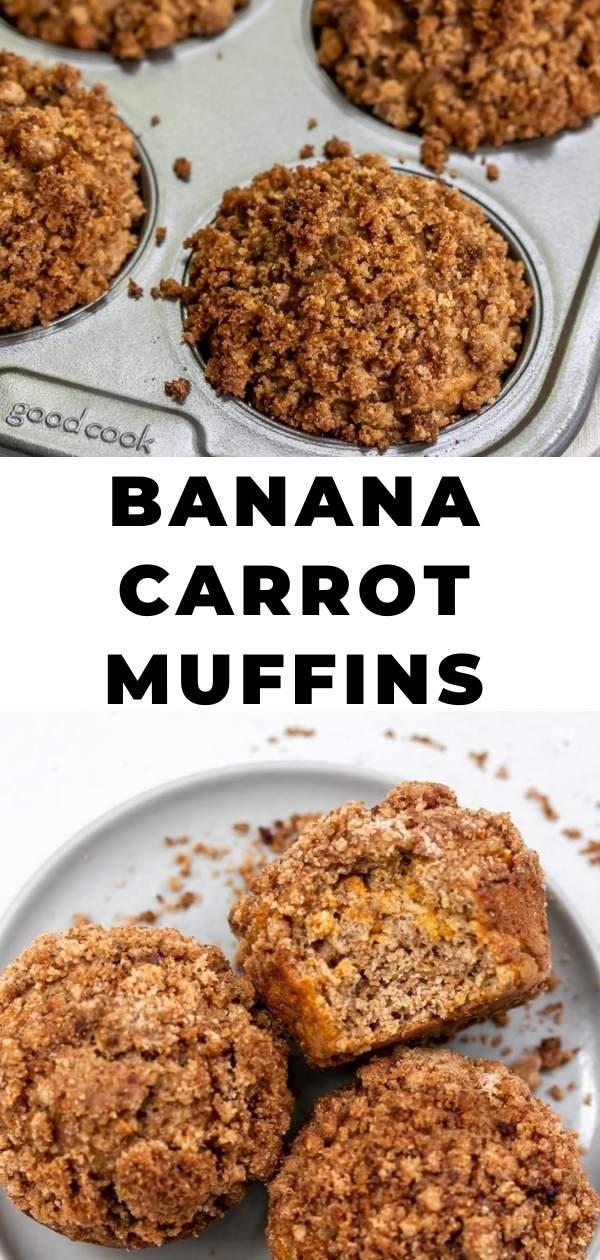 carrot banana muffins pin