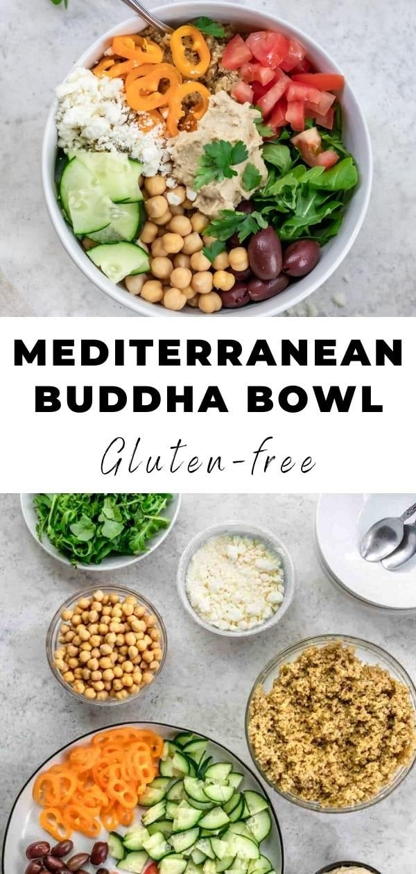 quinoa buddha bowl pin