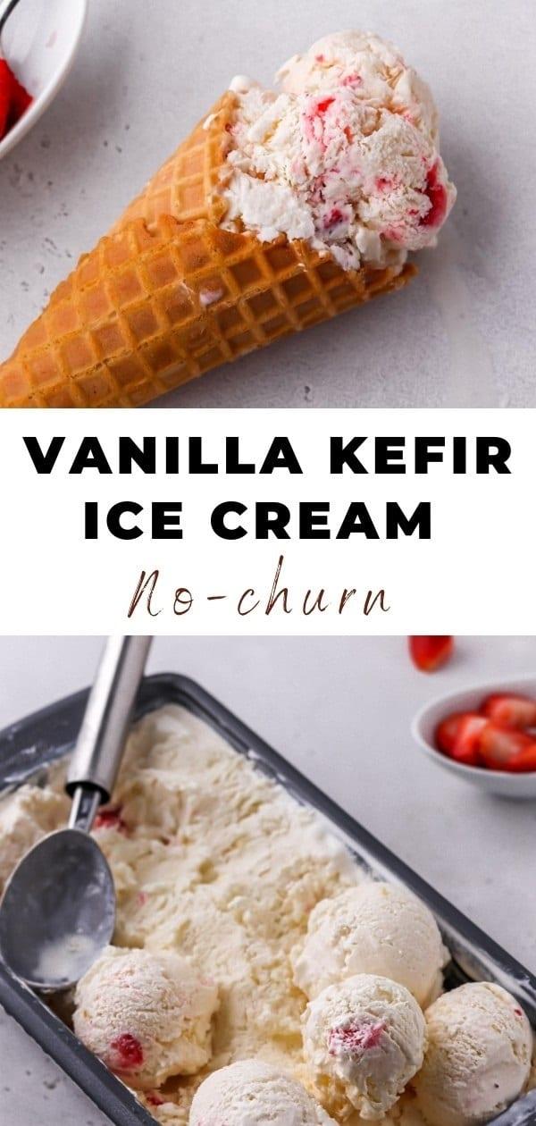 vanilla kefir ice cream pin